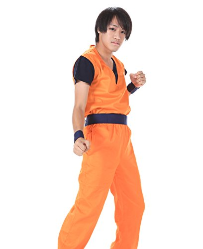 De-Cos DBZ DragonBall Z Kakarot Son Goku Training Uniform 2nd Ver (Dbz Halloween Kostüme)