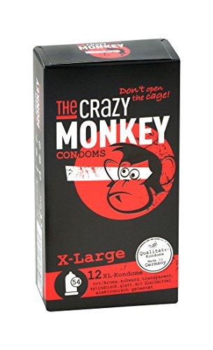 The Crazy Monkey Condoms - X-Large - Condones sabor