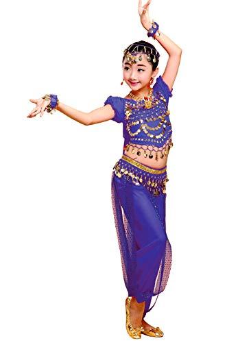 Indische TanzKostüm Und Zubehör - Grouptap Bollywood indische Kinder Mädchen Bharatanatyam