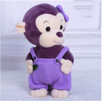 Cute Little Monkey Plush Toy Doll Cloth Doll Cartoon Girl Girl Boy Big Mouth Monkey Holding Arm 35Cm