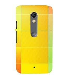 PrintVisa Color Tone Palette Pattern 3D Hard Polycarbonate Designer Back Case Cover for Motorola Moto X Play