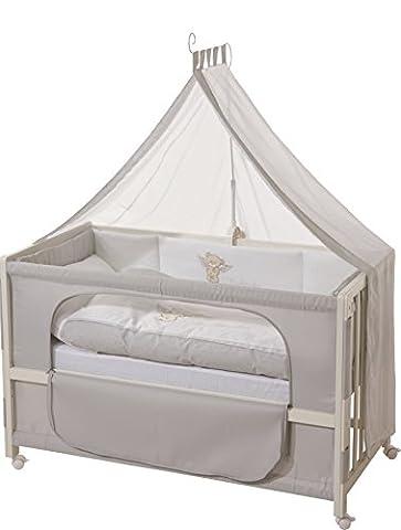 roba Roombed, Babybett 60x120 cm 'Heartbreaker', Beistellbett zum Elternbett mit