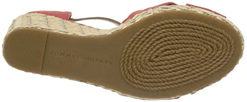 Tommy Hilfiger Emery 54E, Sandales compensées femme Orange (Baked Apple)