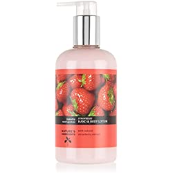 Marks & Spencer Strawberry Hand and Body Lotion, 300ml