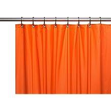 """Hotel Brights Colección Extra pesado brillante de calibre 8Vinilo cortina de ducha (72""""x 72)"""