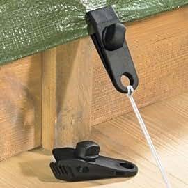 planen klipps 4er set die stabile und sichere halterung f r planen garten. Black Bedroom Furniture Sets. Home Design Ideas