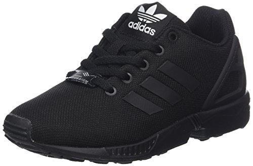 adidas ZX Flux, Baskets Mixte Enfant - Noir (Core Black/Core Black/Core Black), 37 1/3 EU (4.5 UK) (5 US)