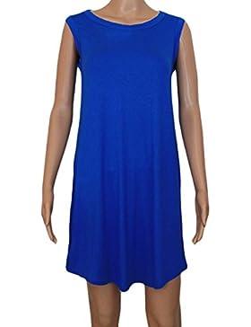 Abito vestito RAGNO copri costume donna revolution viscosa blu 5-XL