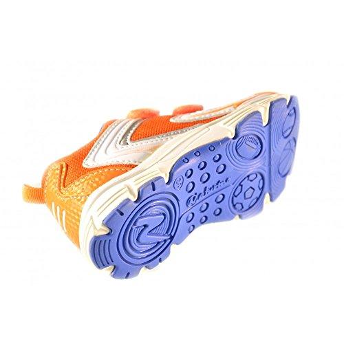 Naturino - Naturino kindershuhe silber weiss orange Spoirt 233 Orange