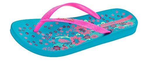Ipanema Brasil Petal III 2015 Femme Flip Flops Blue/Pink