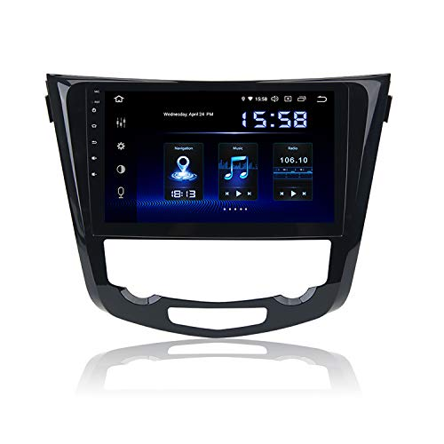 "Dasaita 10.2"" Android 9.0 Autoradio Bluetooth Freisprecheinrichtung für Nissan Qashqai J11 X-Trail Rouge 2014 2015 2016 2017 2018 DAB+ Autoradio mit Navi GPS USB Carplay Android Auto"