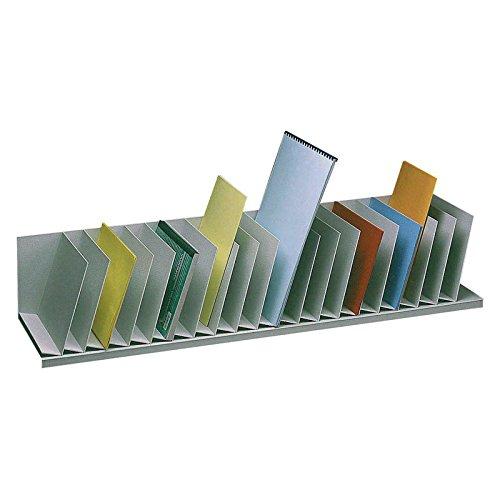 Paperflow Schrägablage Fächerbreite 4,5cm 20 Fächer PS (Polystyrol) schwarz