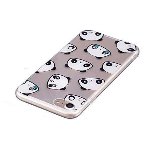 iPhone 7Fall, xinyiyi stoßfest Soft Shell Langlebig kratzfest iphone 7TPU Schutzhülle Expression bear bear