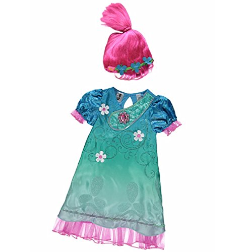 Trolls Poppy Dress Up Costume avec son - Rose -