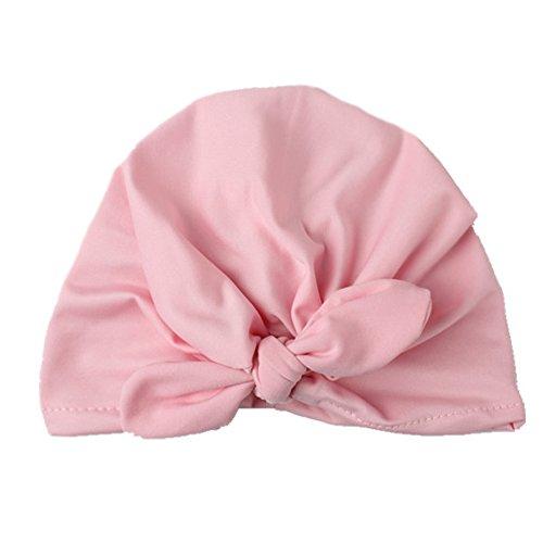 Tenchif Reizendes Unisexbaby Mädchen Kleinkind Bowknot weiche Hut Baumwollknoten Kappe