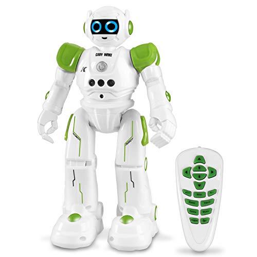Roboter Spielzeug für Kinder, intelligent Ferngesteuerter Roboter mit Fernbedienung und Gestensteuerung, perfekte Geschenke für Jungen und Mädchen, Lernen, Programmieren, Gehen, und Singen.