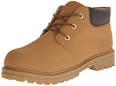 Fila Men's Watersedge Hiking Boot, Wheat/Espresso/Gum, 9 M US