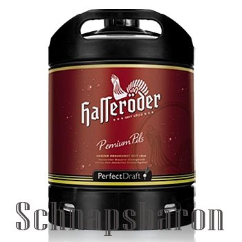 1 Fass Perfekt Draft Hasseröder a 6 Liter Pils inc. 5.00€ MEHRWEG Pfand