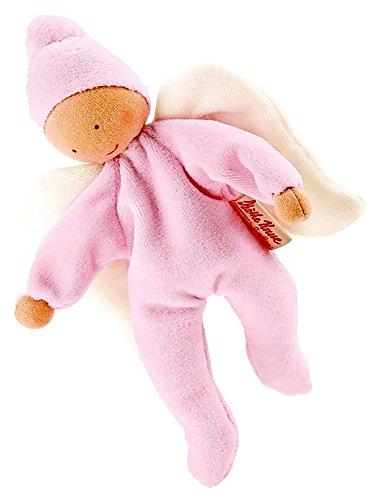 Preisvergleich Produktbild Käthe Kruse Schutzengel rosa Weichpuppen Biegepuppen Babypuppe Stoffpuppe