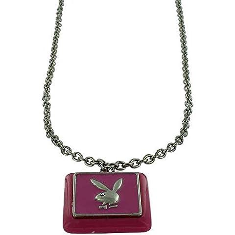 Playboy collana argento Pink Bunny - Playboy Pink Bunny
