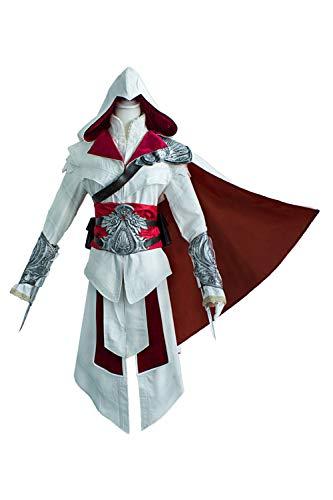 Karnestore Assassins Creed Ezio Auditore Cosplay Kostüm Herren -