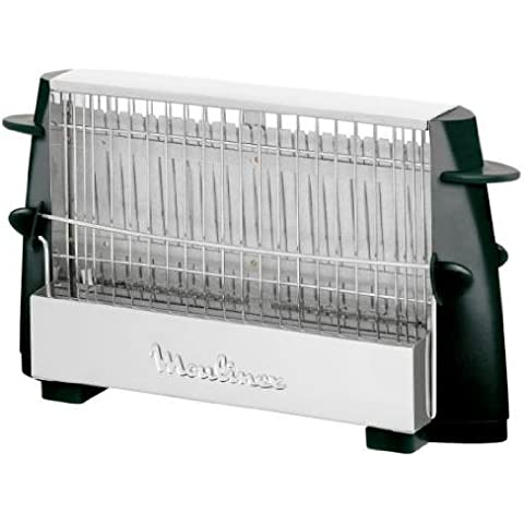 Moulinex Multipan A15453 - Tostador, 760 W, para todo tipo de pan, hasta 4 rebanadas, empuñadoras laterales frías, pequeño y fácil de