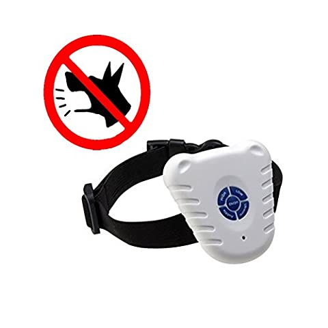 Leeminus Safe Ultrasonic Dog Pet Stop Barking Anti Bark Training Water-resistant Control Collar