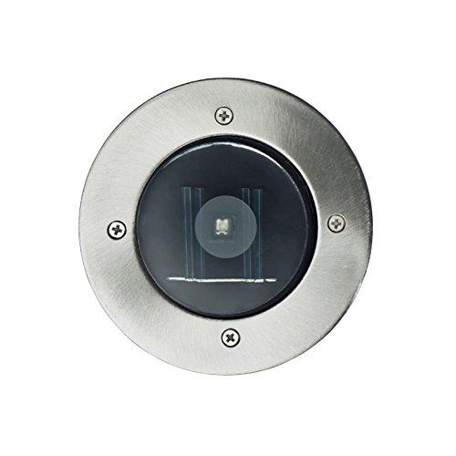 Solaire LED Spot Lot de 3 spots encastrables sol Blanc chaud 12 cm 2321