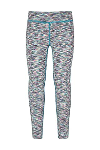 Mountain Warehouse Leggings fille effet chiné Cosmo Menthe 11-12 ANS