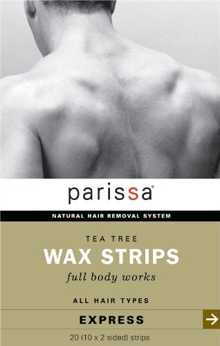 parissa-mens-tea-tree-wax-strips-20-strips