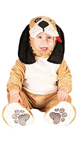 Guirca Kinder Kostüm Hund Hund Hellbraun 0-12 Monate 82620