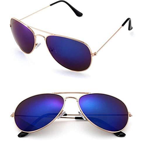 Sonnenbrille | Polarisiertes HD | Sport | Reiten | Klassischer Designer | Blau
