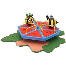 The Hive Merry-Go-Round - Tiovivo de juguete con abejas de juguete