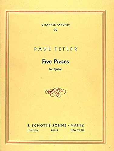 Five Pieces Guitare