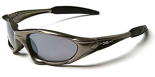 X-Loop Xtreme Sunglasses (Gunmetal) - New 2012-2013 Ski Model - Full UV 400 Protection - Perfect for Ski & Sports - Perfect for Ski / Snowboard / Sports / Cycling / Fishing / Biking - Unisex Sports Sunglasses