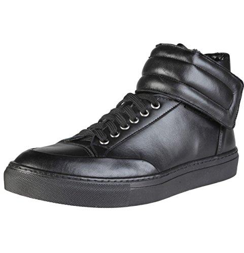 Versace V 1969 Nestor Hi Herrenschuhe High Top Leder Sneakers Boots Sport  Schuhe Gr. 41 84a2bc835e9