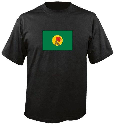T-Shirt für Fußball LS200 Ländershirt mehrfarbig Zaire - Zaire Fahne freie Farbwahl