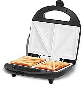 Kent 16024 700-Watt 2-Slice Sandwich Toaster (Black)