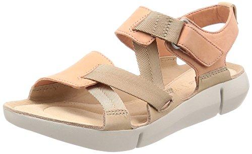 Clarks Tri Klee Womens Sportliche Sandale 5 D (M) UK/ 38 EU Pink Combi -