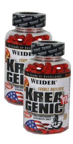 Weider Krea-Genic + PTK, 2 x 135 Kapseln, (2 x 175 g)