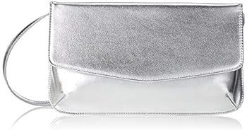 Esprit Accessoires 039ea1o075, Sacs baguette femme, Gris (Silver), 2x14x29 cm (B x H T)