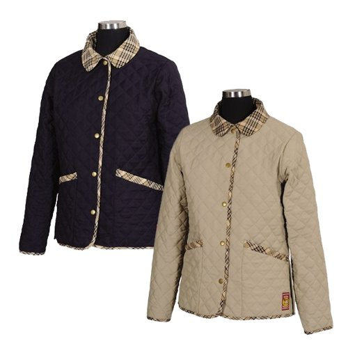 Baker by Equine Couture Damen-Country Steppjacke, Damen, Navy, X-Small