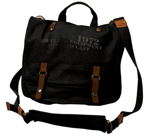 Kakadu Utility Shoulder Bag Black