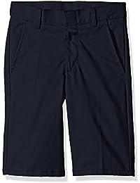 Nautica Boys' Uniform Flat Front Twill Short
