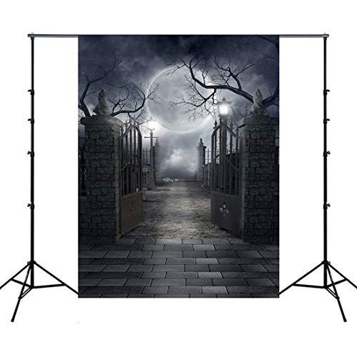 RainBabe Halloween-Hintergrund, Vinyl, Fotohintergrund für Fotostudio, 1 Stück