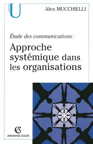 tude des communications : approche systmique dans les organisations