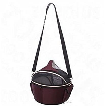 Elegant Innovative Round Hard Case Carrier Bag - Has A Variety Of Different Functions - Ideal For Large Cats & Small… 4