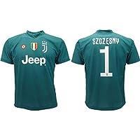 b6fc30711 Maglia Juventus Szczesny 2019 Ufficiale stagione 2018 2019 Replica  Autorizzata Portiere Juve verde (10