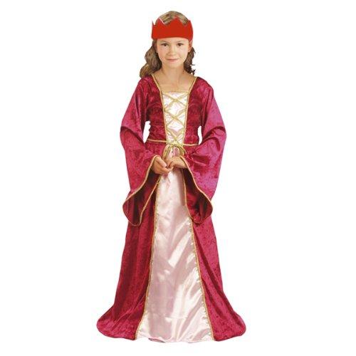 enaissance Queen 7-9 Jahre (Queen Kostüme Kinder)