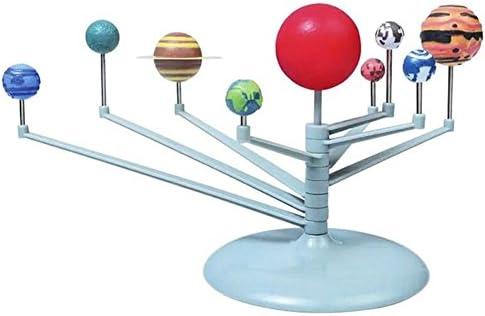 Amyove Réveils éducatifs Modèle 3D Solaire Planétarium modèle d'apprentissage étude Kits de Science éducatifs Astronomie modèle Bricolage Jouet Cadeau Cadeaux de Noël,Christmas | Pas Cher